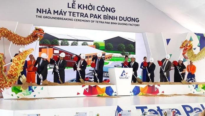 Tetra Pak открывает завод по производству асептической картонной упаковки во Вьетнаме